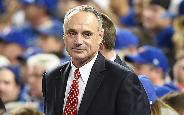 Commissioner Manfred didn't seek a drastic change with the trade deadline.