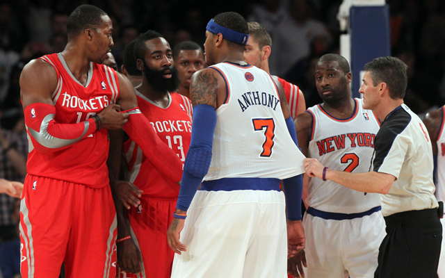Can the Rockets convince Melo to join them?   (USATSI)