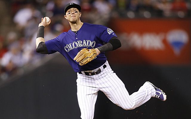 It wasn't a matter of if Troy Tulowitzki would chosen, it was a matter of which season to use.