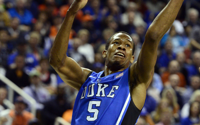 Rodney Hood could be a lottery pick in June.  (USATSI)