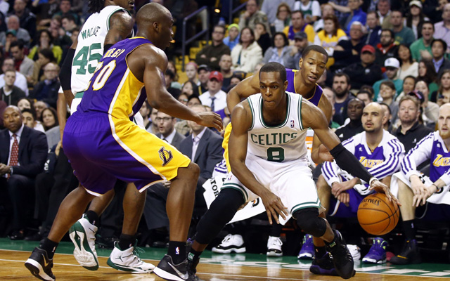 Rajon Rondo is back... on the trade block. (USATSI)