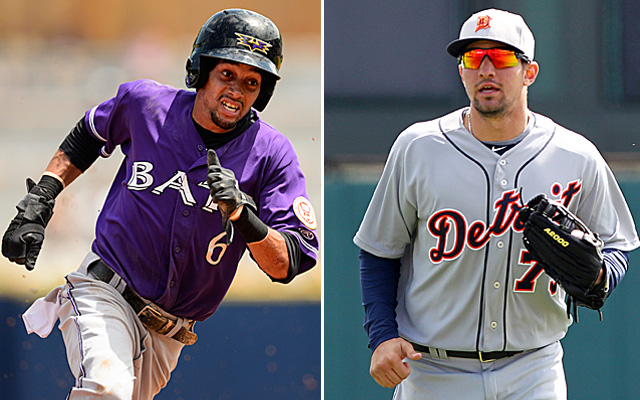 Billy Hamilton and Nick Castellanos are among those who could make impactful debuts this September.