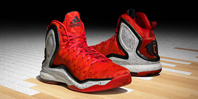 premium selection 8a237 517b7 Derrick Rose s new Adidas shoe shows his love for his mom. (Adidas)