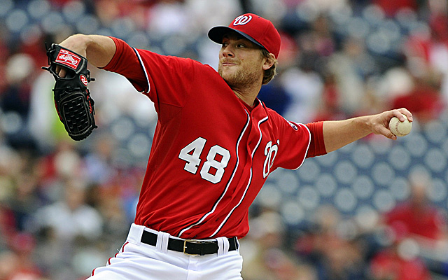 Washington's Ross Detwiler won't be doing this for quite a while.
