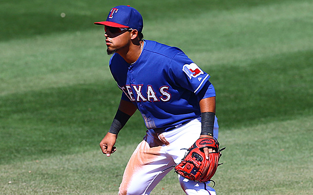 Rougned Odor will get his shot at second base for Texas.