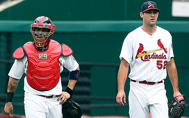Yadier Molina and Michael Wacha are set to go out on minor-league rehab stints.