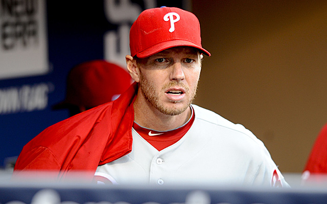 Roy Halladay begins his journey back from shoulder surgery.