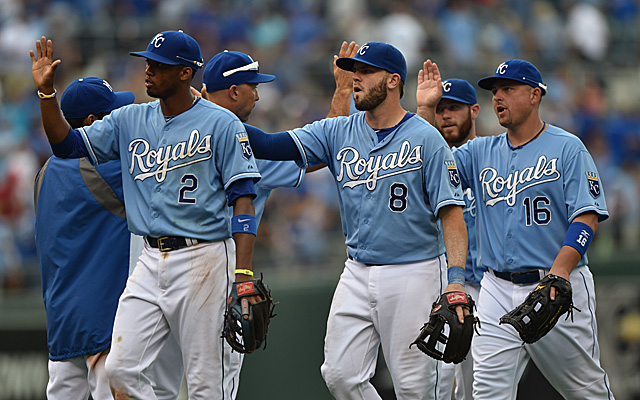 The Royals are red hot. Can they keep it up against the A's?