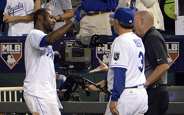 Lorenzo Cain's walk-off winner on Wednesday set the Royals up nicely.