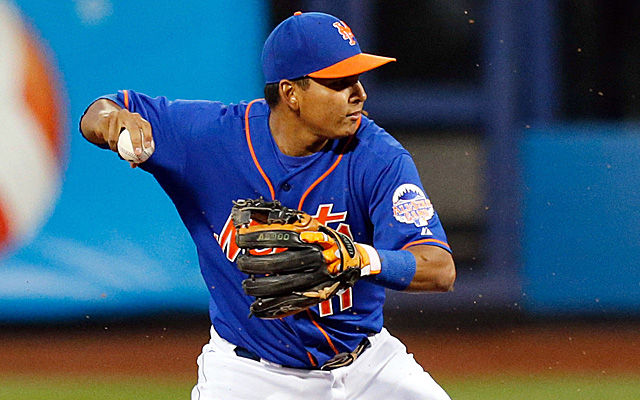 A quad injury sent Ruben Tejada to the disabled list.