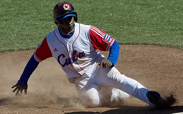 Rusney Castillo is ready to start doing things like this again.