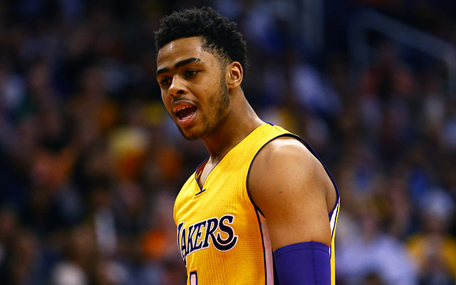 D'Angelo Russell is in hot water with the Lakers. (USATSI)
