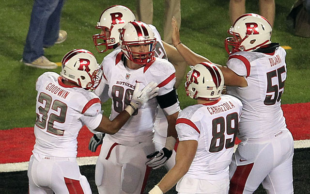 Rutgers moves to the Big Ten Conference this season. (USATSI)