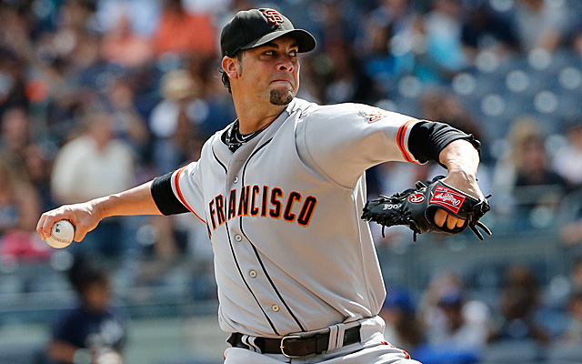 Ryan Vogelsong's option will not be picked up by the Giants, though he may not hit free agency.