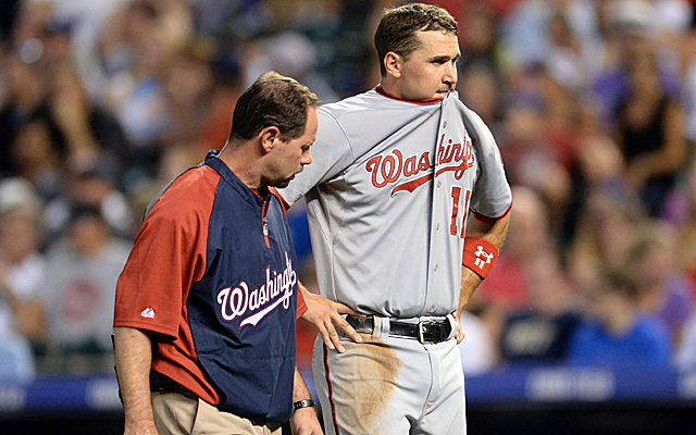 Ryan Zimmerman's hamstring injury could be pretty serious.