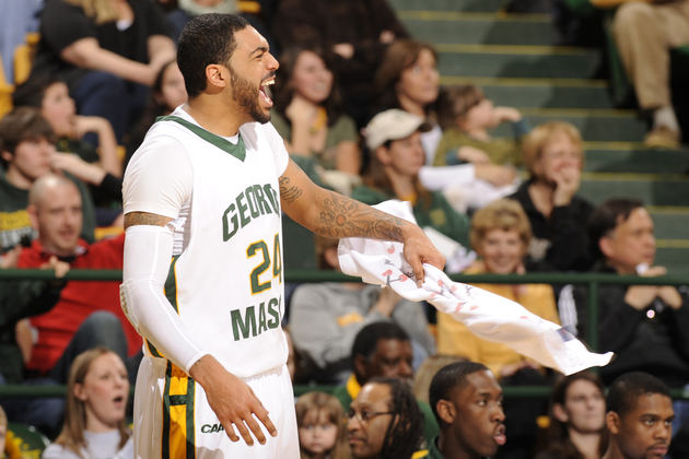 Ryan Pearson leads a tough George Mason team