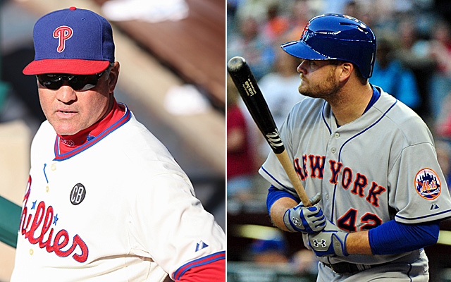 Both Ryne Sandberg and Lucas Duda had some food poisoning this past weekend.