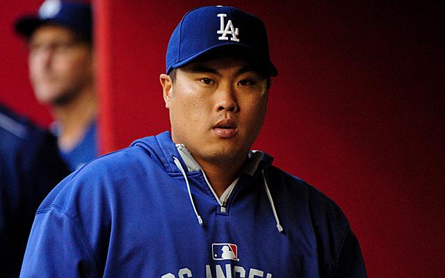 Hyun-Jin Ryu won't be pitching in 2015.