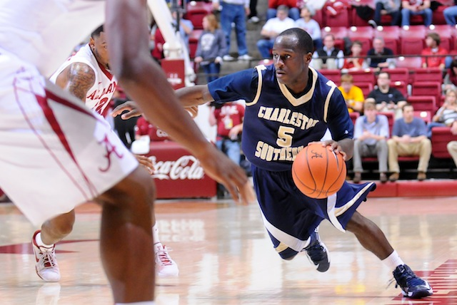 Saah Nimley's ability to create offense for himself could be the difference for Charleston Southern. (USATSI)