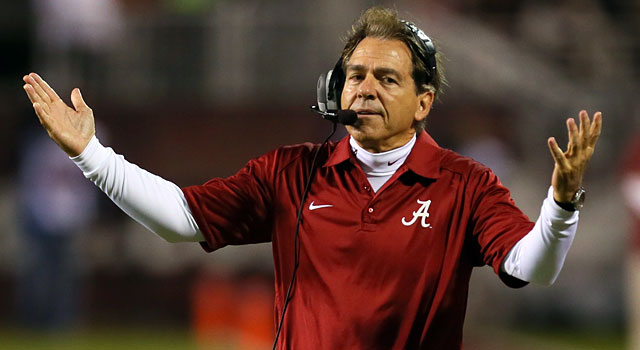 Would Nick Saban actually leave Alabama for Texas? (USATSI)