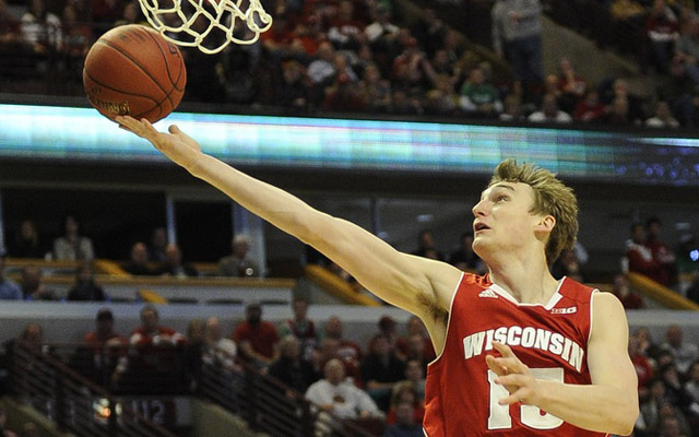 Sam Dekker projects as a good late-first-round wing.  (USATSI)