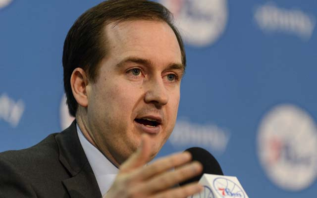 Sam Hinkie has the Sixers looking at the future. And only the future.  (USATSI)