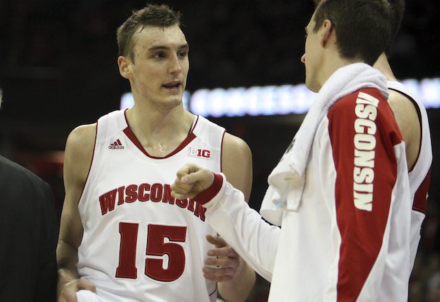 Sam Dekker and Wisconsin survived Iowa on Sunday; will the Badgers remain another week? (USATSI)