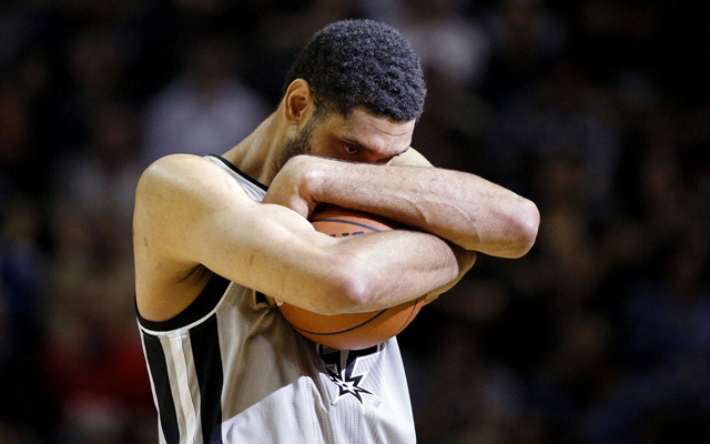 Tim Duncan and the Spurs got a big win Sunday.  (USATSI)