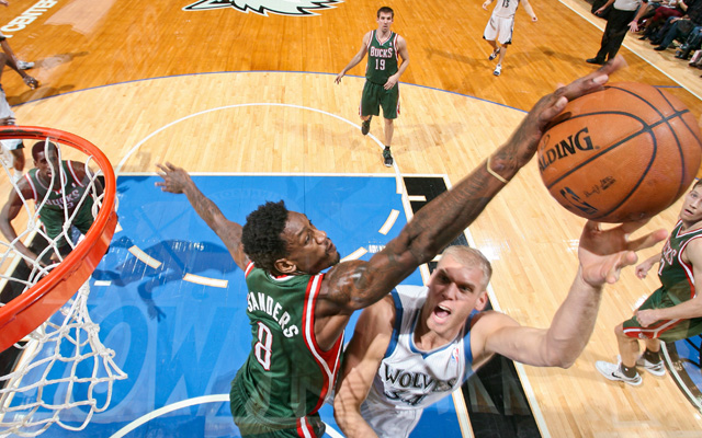 Does Larry Sanders have a self-discipline issue?   (USATSI)