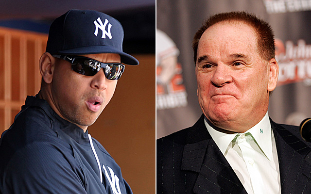 A-Rod and Pete Rose have something in common: Involvement in baseball's biggest scandals.