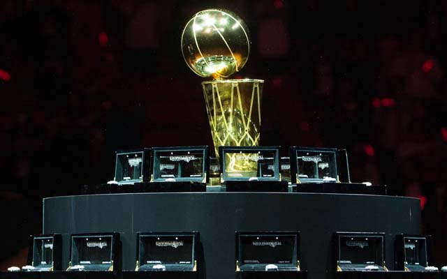 The NBA schedule is out, all in pursuit of this.  (USATSI)
