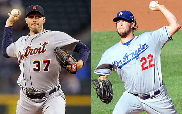 Max Scherzer and Clayton Kershaw should each win a Cy Young Thursday night.