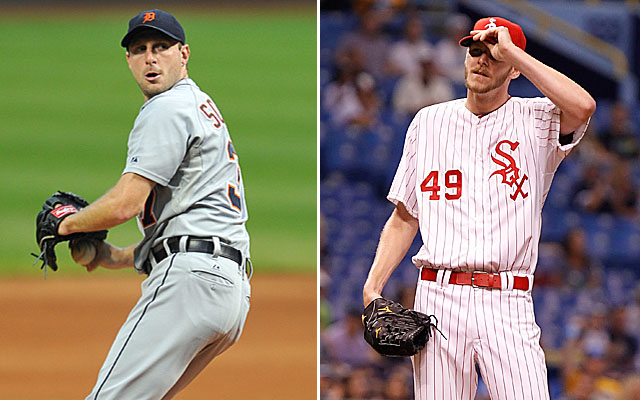 Max Scherzer and Chris Sale have been pretty awesome in 2013 even if their records are vastly different.