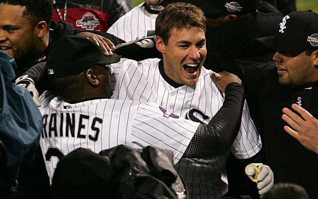 Non-HR hitter Scott Podsednik boasts one of the 15 walkoff homers in Fall Classic history