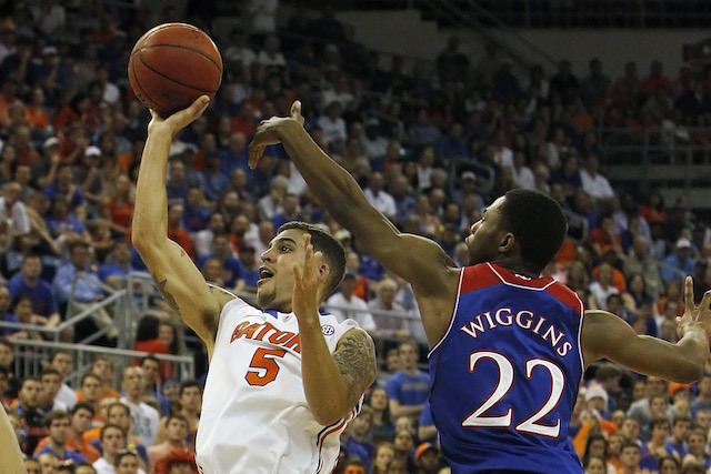Scottie Wilbekin had 18 points and six assists against Kansas in an impressive Florida win. (USATSI)