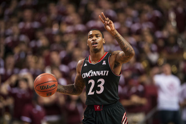 Sean Kilpatrick and Cincinnati have a big one against UConn tap. (USATSI)