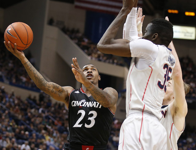 Sean Kilpatrick and Cincinnati are being somewhat disrespected in a lot of brackets. (USATSI)