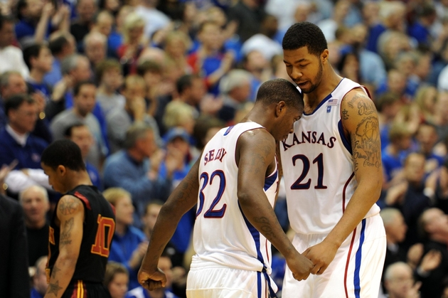 KU's emotional seams started to show in a win at Cal