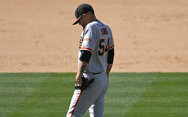 The last six weeks have been a struggle for Sergio Romo.
