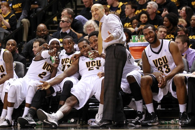 For the first time in Shaka Smart's head coaching career, VCU is the heavy favorite to win the league. (USATSI)