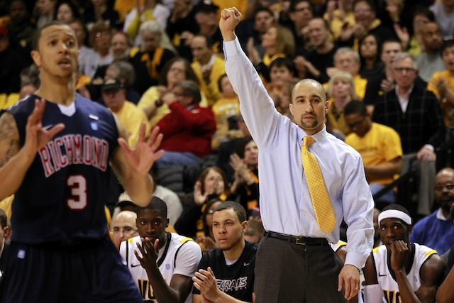Shaka Smart has improved recruiting dramatically at VCU since the Rams reached the Final Four. (USATSI)