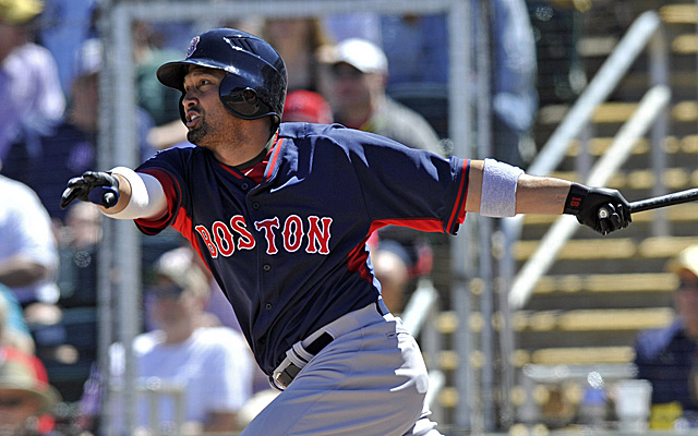Shane Victorino might have to open the season on the DL.