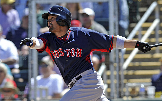 Shane Victorino makes his return to the Boston lineup Thursday.
