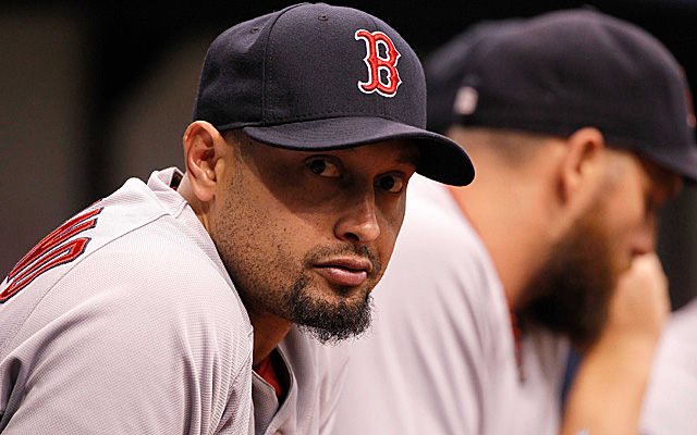 Shane Victorino's 2014 season is likely over.