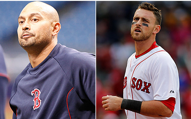 Both Shane Victorino and Will Middlebrooks will remain on the shelf for a bit.
