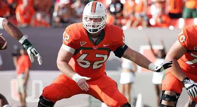 Shane McDermott started all 12 games at center for Miami last fall and earned honorable mention All-ACC honors. (247Sports)