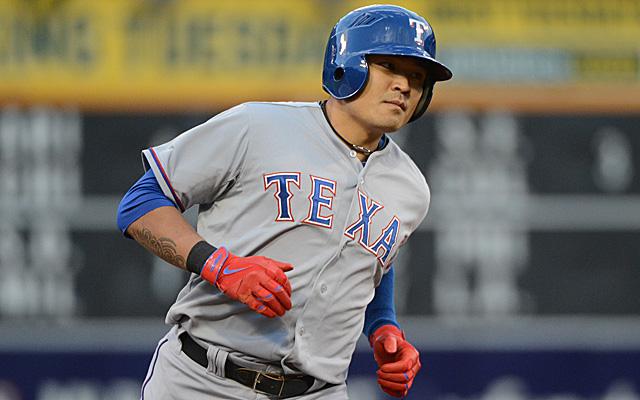 Shin-Soo Choo will return to the Rangers lineup Tuesday.