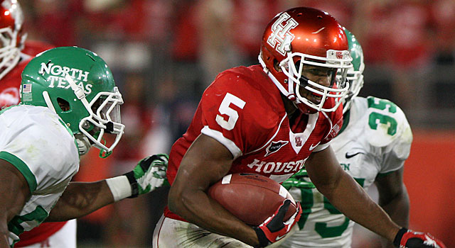 Charles Sims ran for 851 yards last season at Houston. (USATSI)