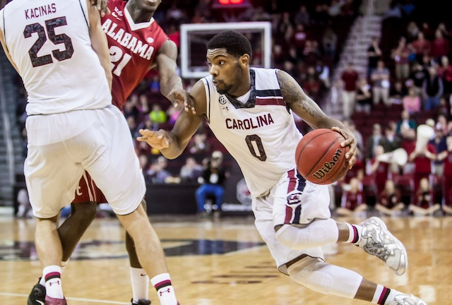 Sindarius Thornwell is developing as a playmaker, instead of just a scorer. (USATSI)