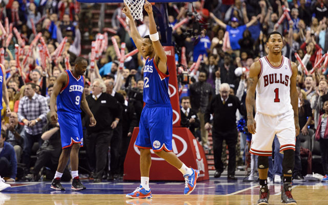 The 76ers knocked off the Bulls Saturday night.  (USATSI)